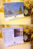 Причины популярности бумажных календарей, а также способы их печати